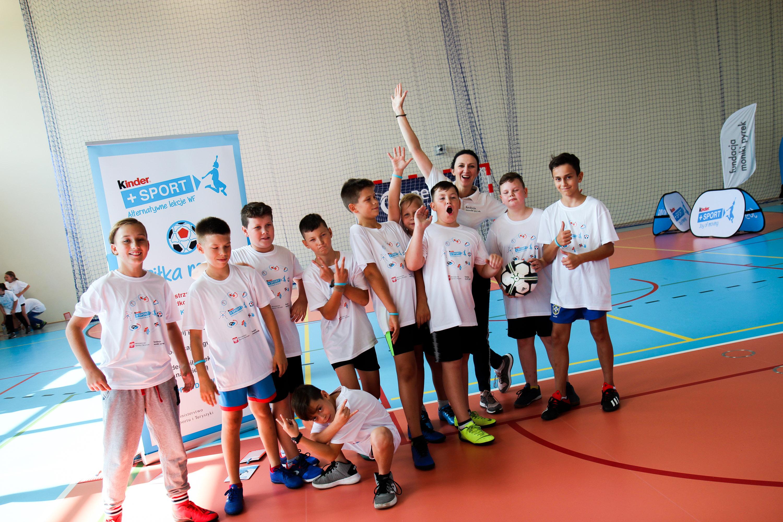 Kinder+Sport Alternatywne Lekcje WF w Gminie Żnin!