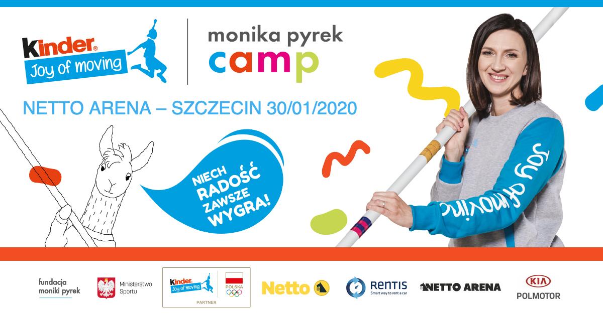 Wielki powrót Monika Pyrek Camp – 30.01.2020 Szczecin