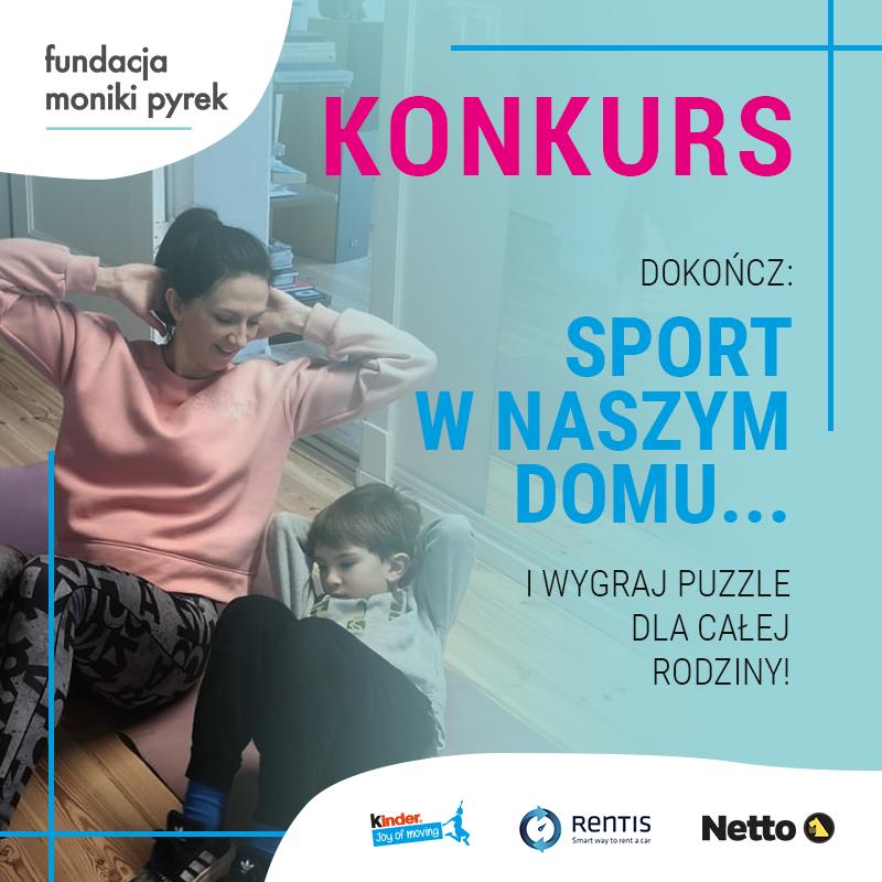 """Konkurs """"SPORT W NASZYM DOMU…"""" – wygraj puzzle"""