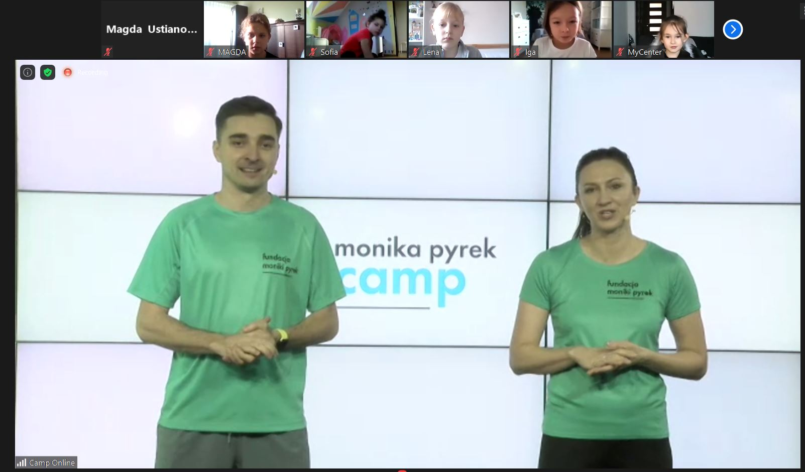 Monika Pyrek Camp Online – wielkie skakanie!